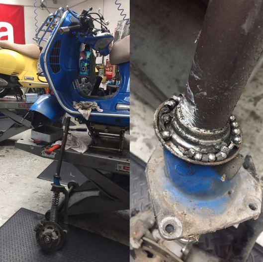 bearings messed up